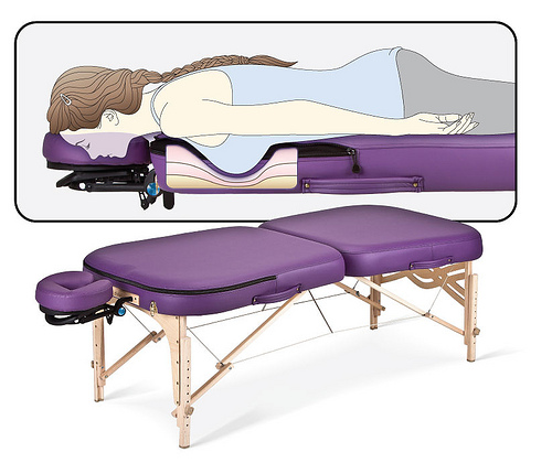 Earthlite Infinity Conforma massagetafel
